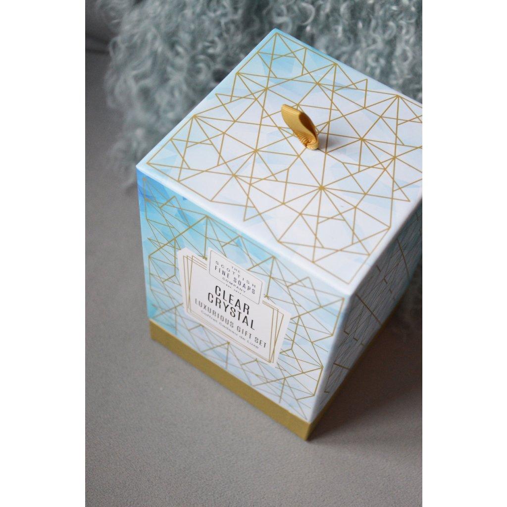 Dárkový box v papírové krabici Clear Crystal - Čistý křišťál