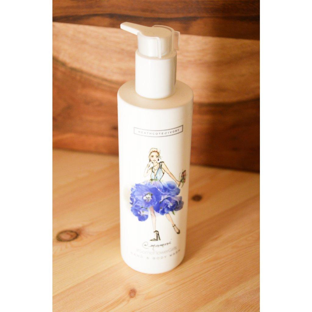 Sprchový gel na tělo a ruce Coctail Of White Flowers, Green Leaves and Bergamot - Koktejl z bílých květů, zelených listů a bergamotu