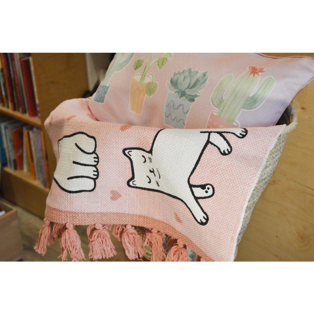 Kobereček růžový s kočičkou