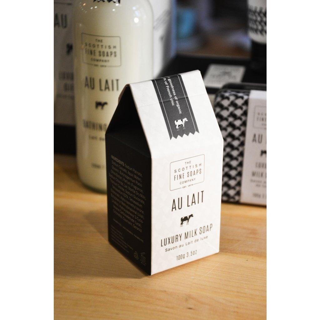 Luxusní mýdlo s mlékem Au Lait