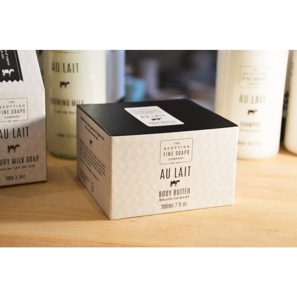 Tělové máslo v krabičce Au Lait