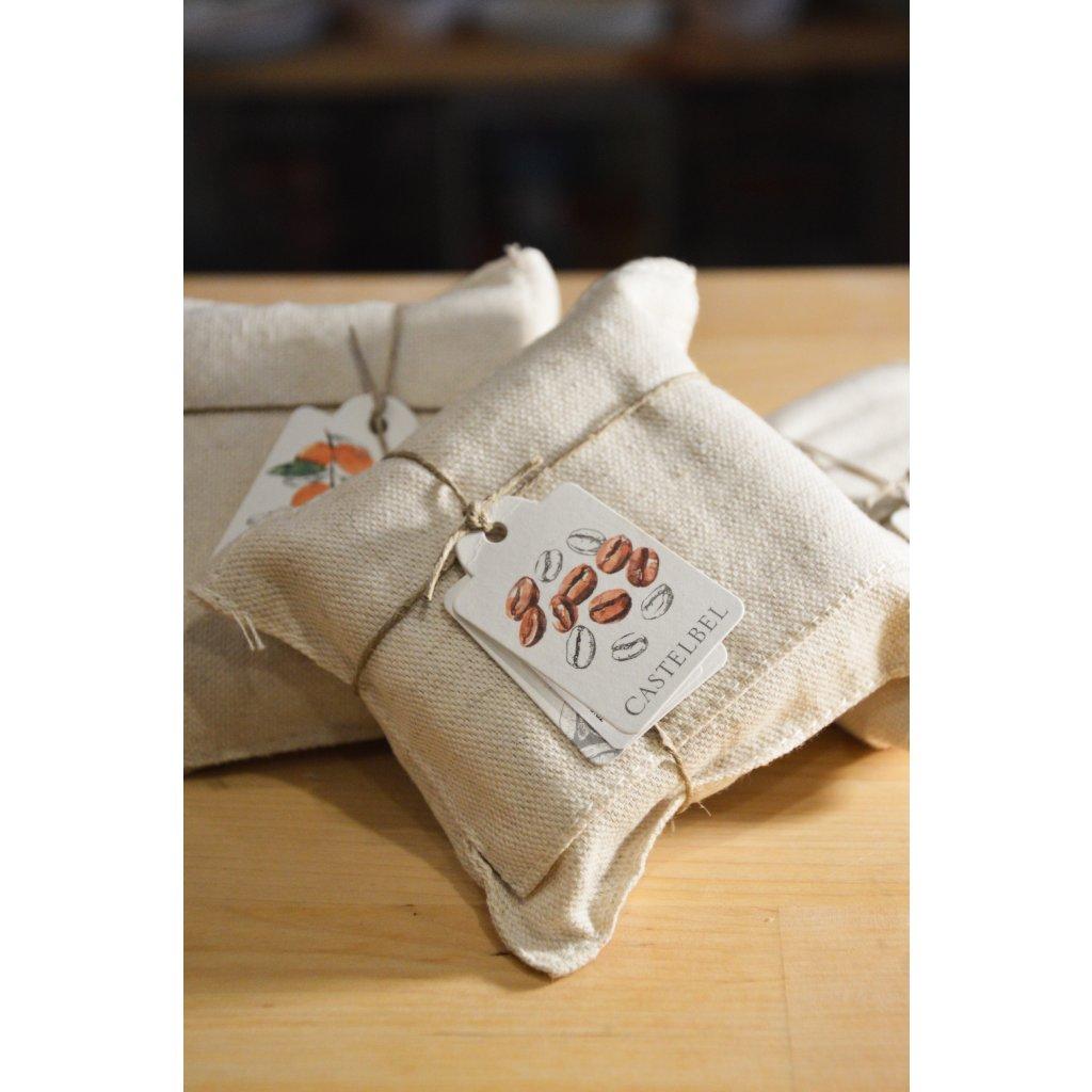 Ručně balené mýdlo do textilu - Káva