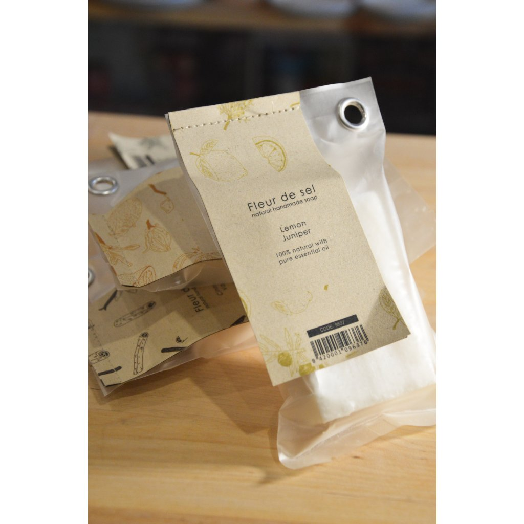 Ručně vyrobené mýdlo Lemon and Juniper - Citrón a jalovec