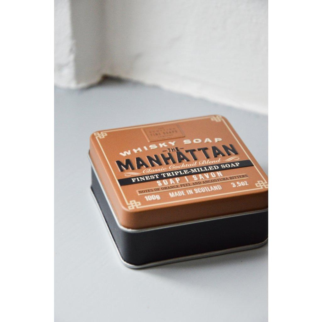 Třikrát mleté mýdlo Manhattan