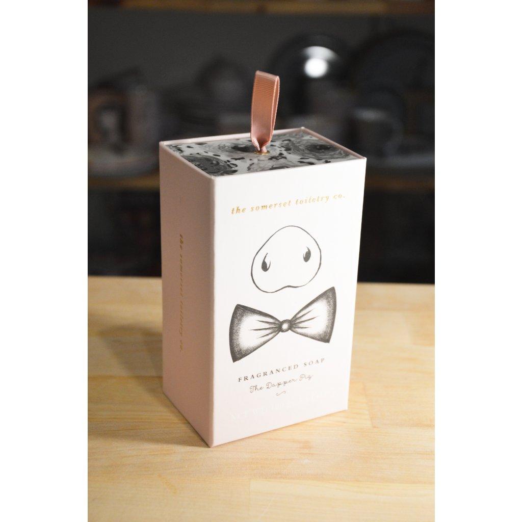 Luxusní mýdlo v dárkové krabičce Prasátko