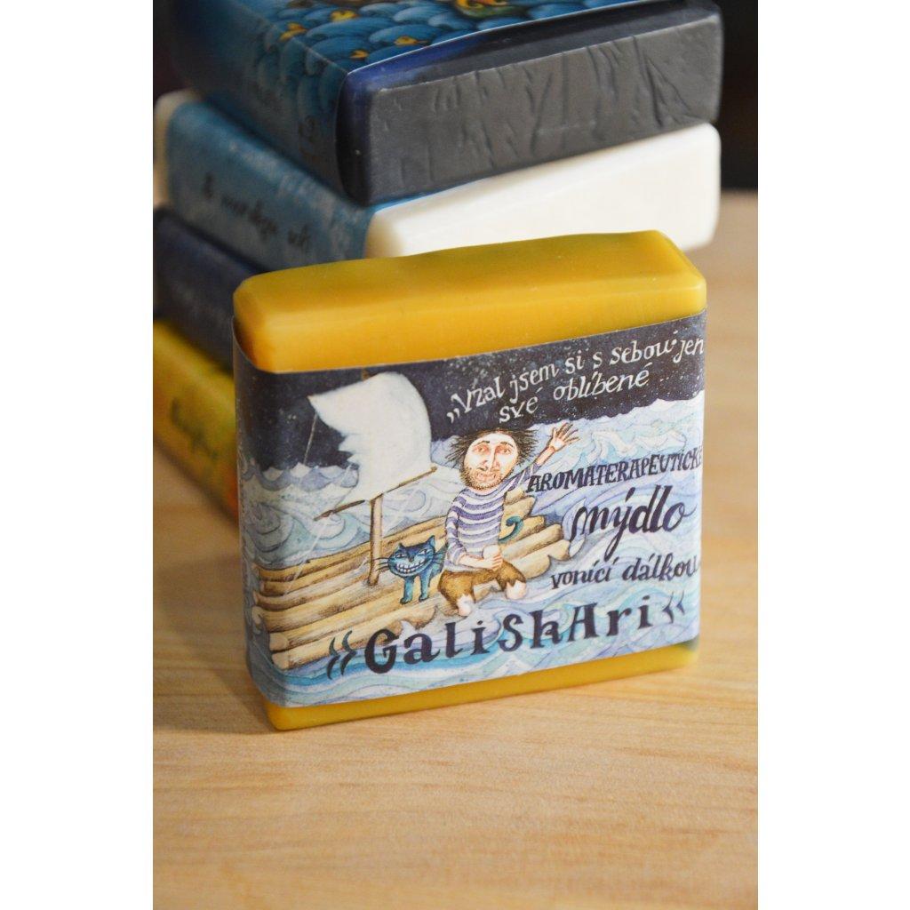 Aromaterapeutické mýdlo Galiskari