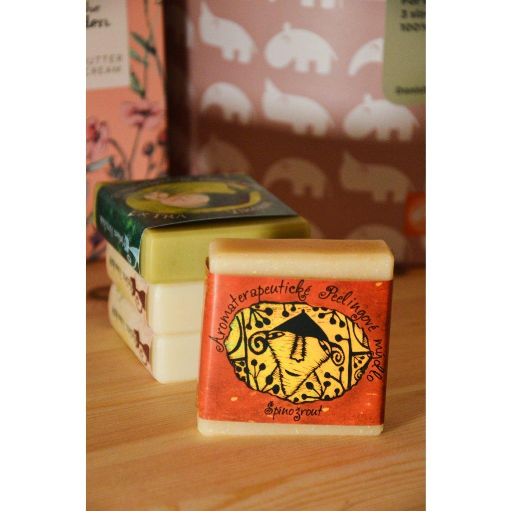 Aromaterapeutické peelingové mýdlo Špínožrout