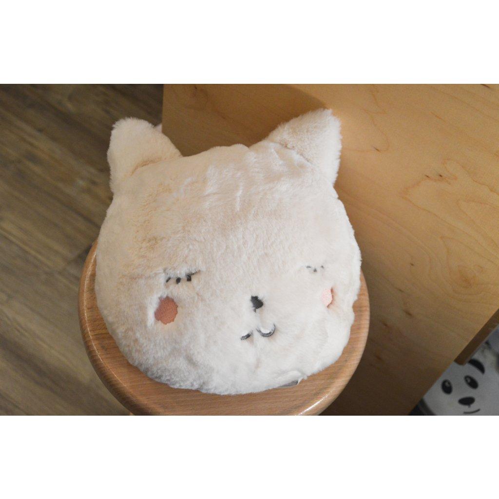 Polštář Hlava kočičky