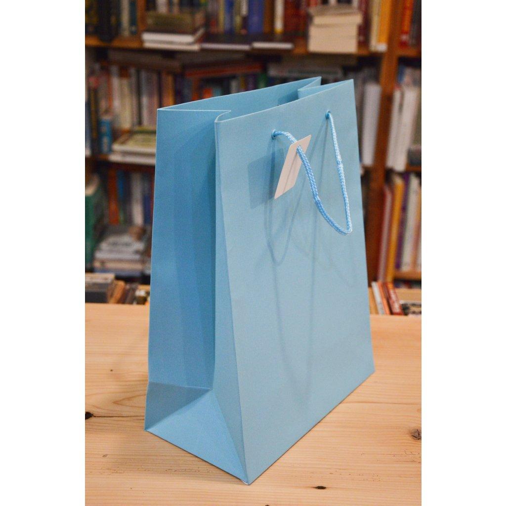 Dárková taška velká Modrá