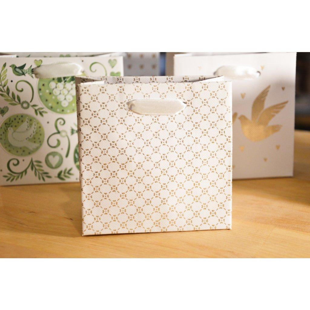 Dárková taška na malý dárek Vzorovaná
