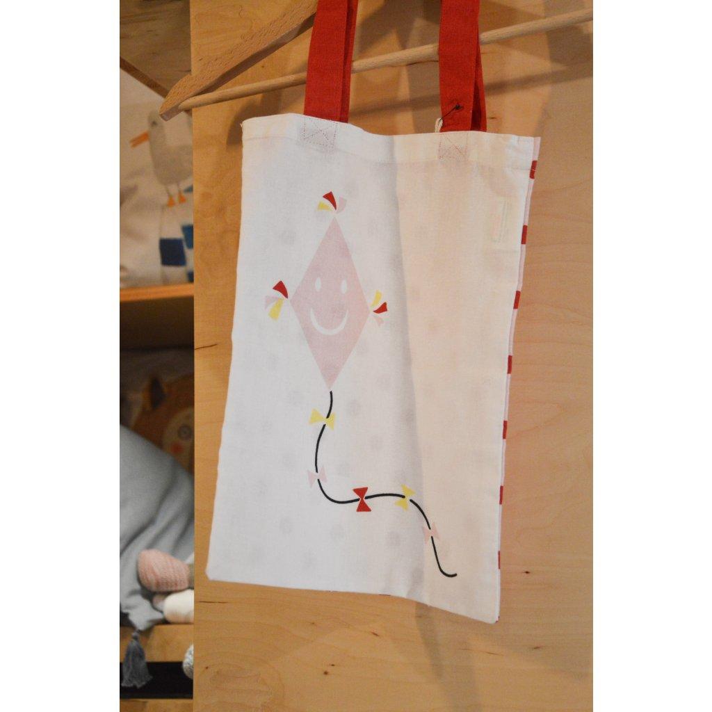 Plátěná taška přes rameno Drak