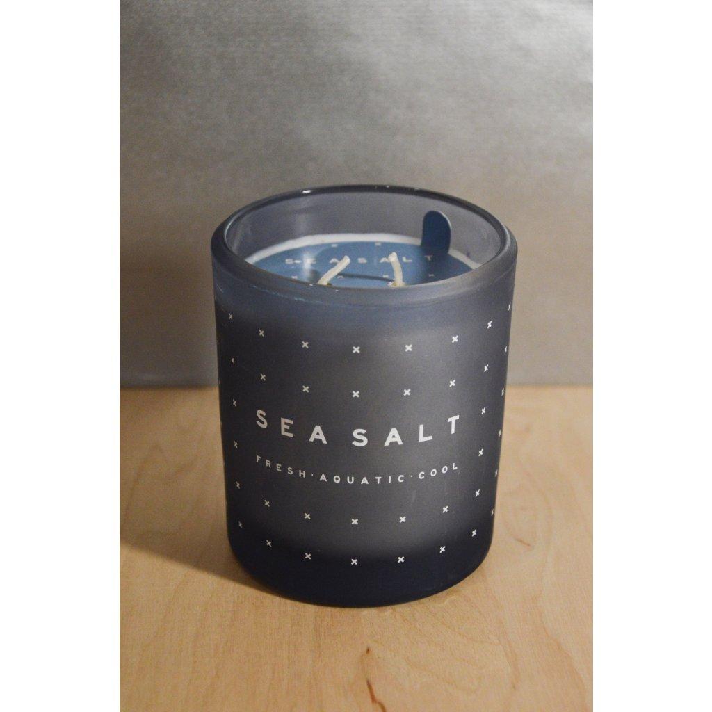 Svíčka ve skle Sea salt - mořská sůl