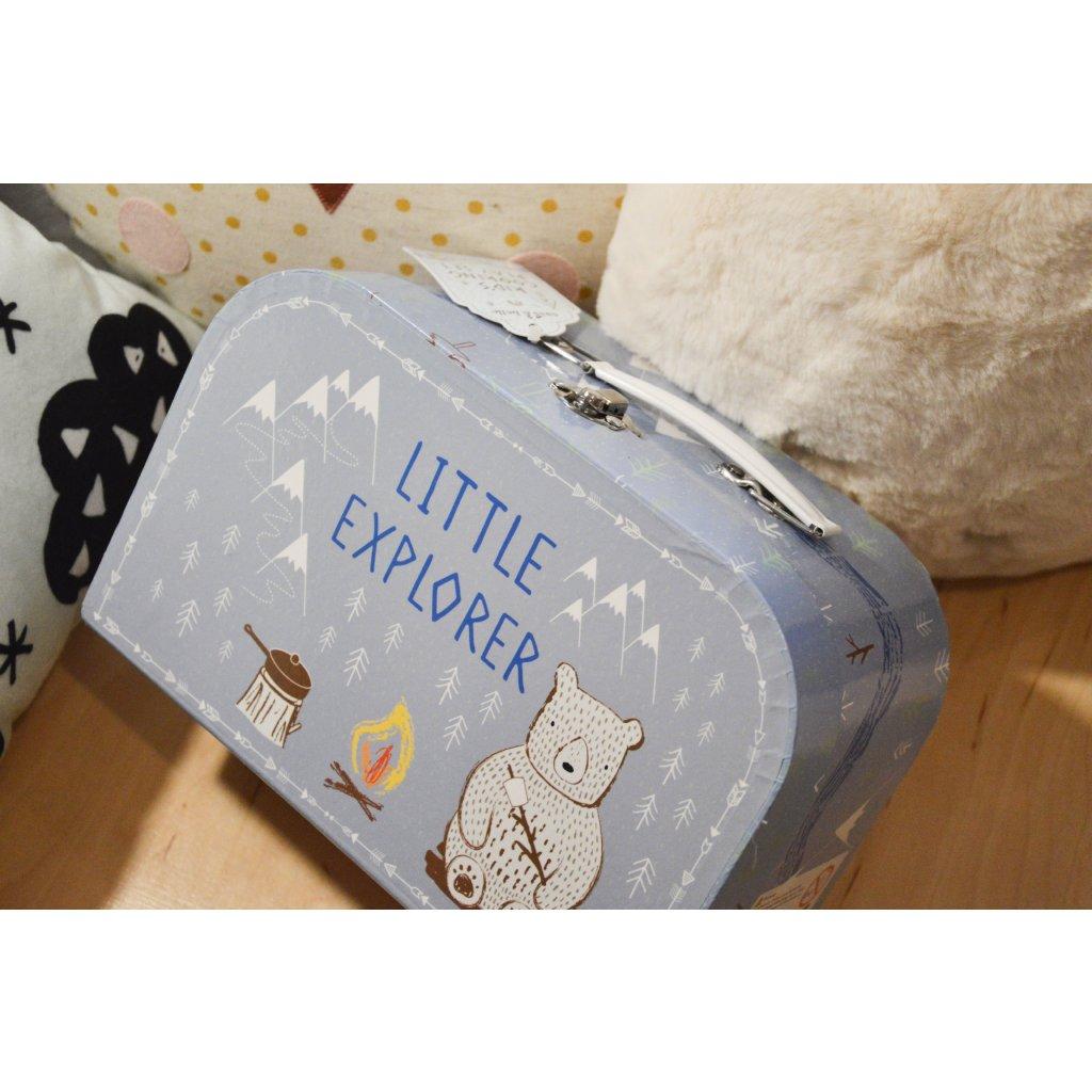 Kufřík Little Explorer - Malý dobrodruh - s kuchyňským setem uvnitř