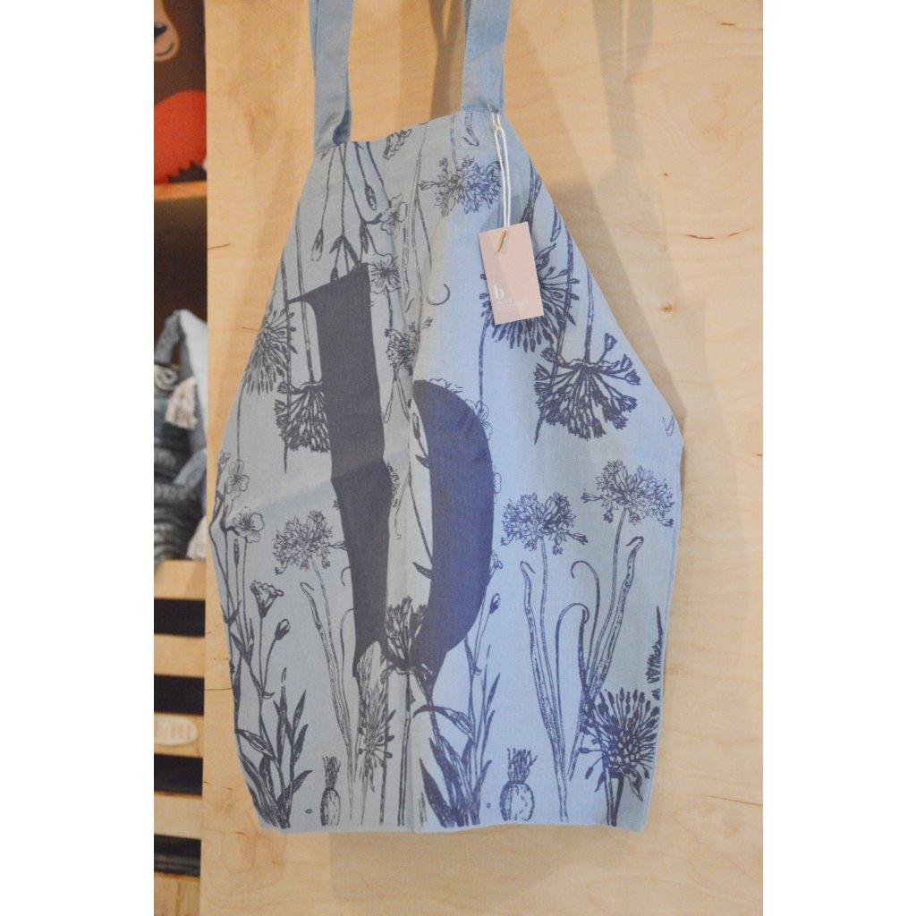 Plátěná taška přes rameno Modrá