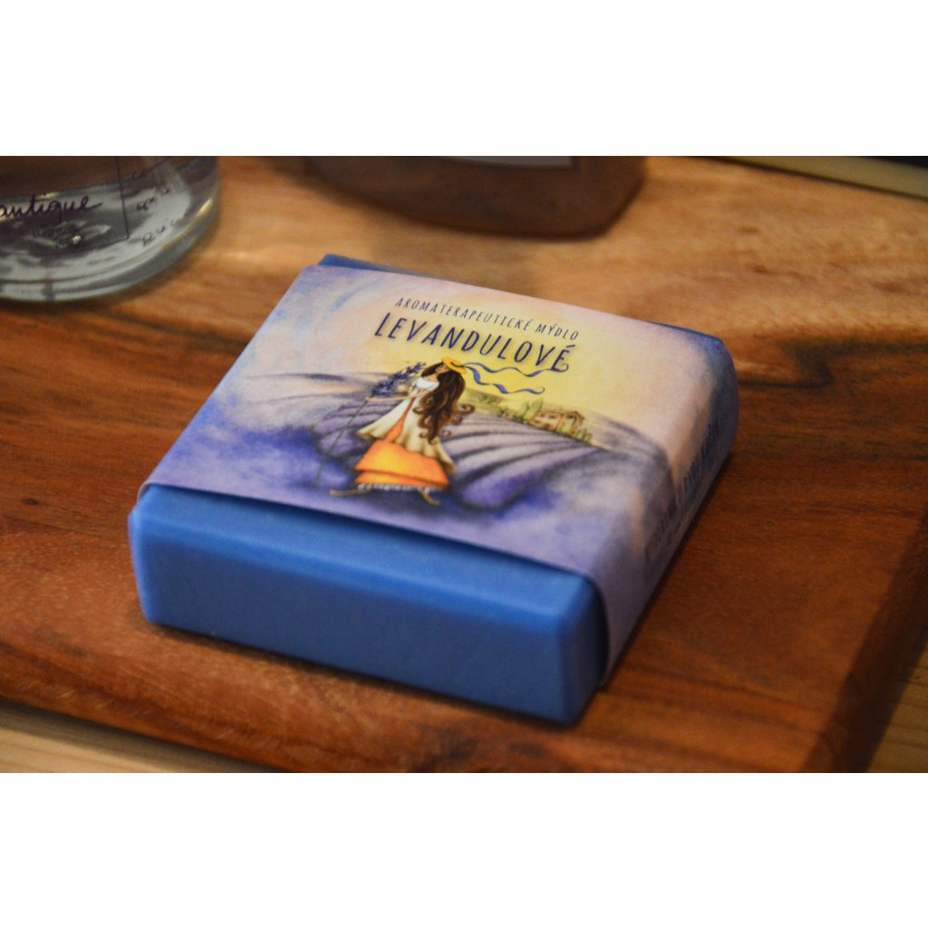 Aromaterapeutické mýdlo Levandulové