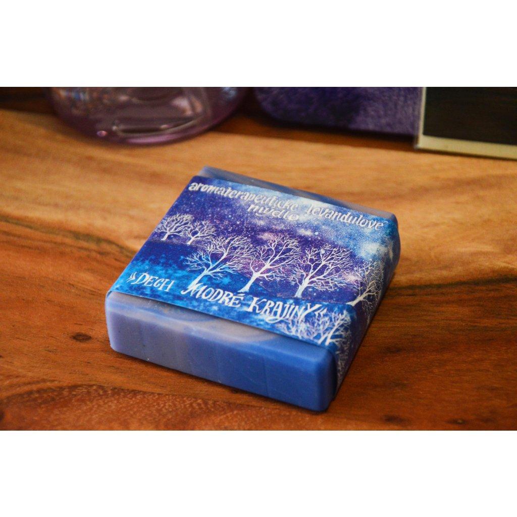 Aromaterapeutické mýdlo levandulové Dech modré krajiny