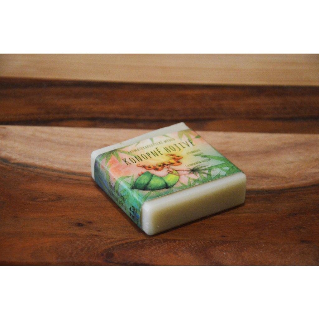 Aromaterapeutické mýdlo Konopné hojivé