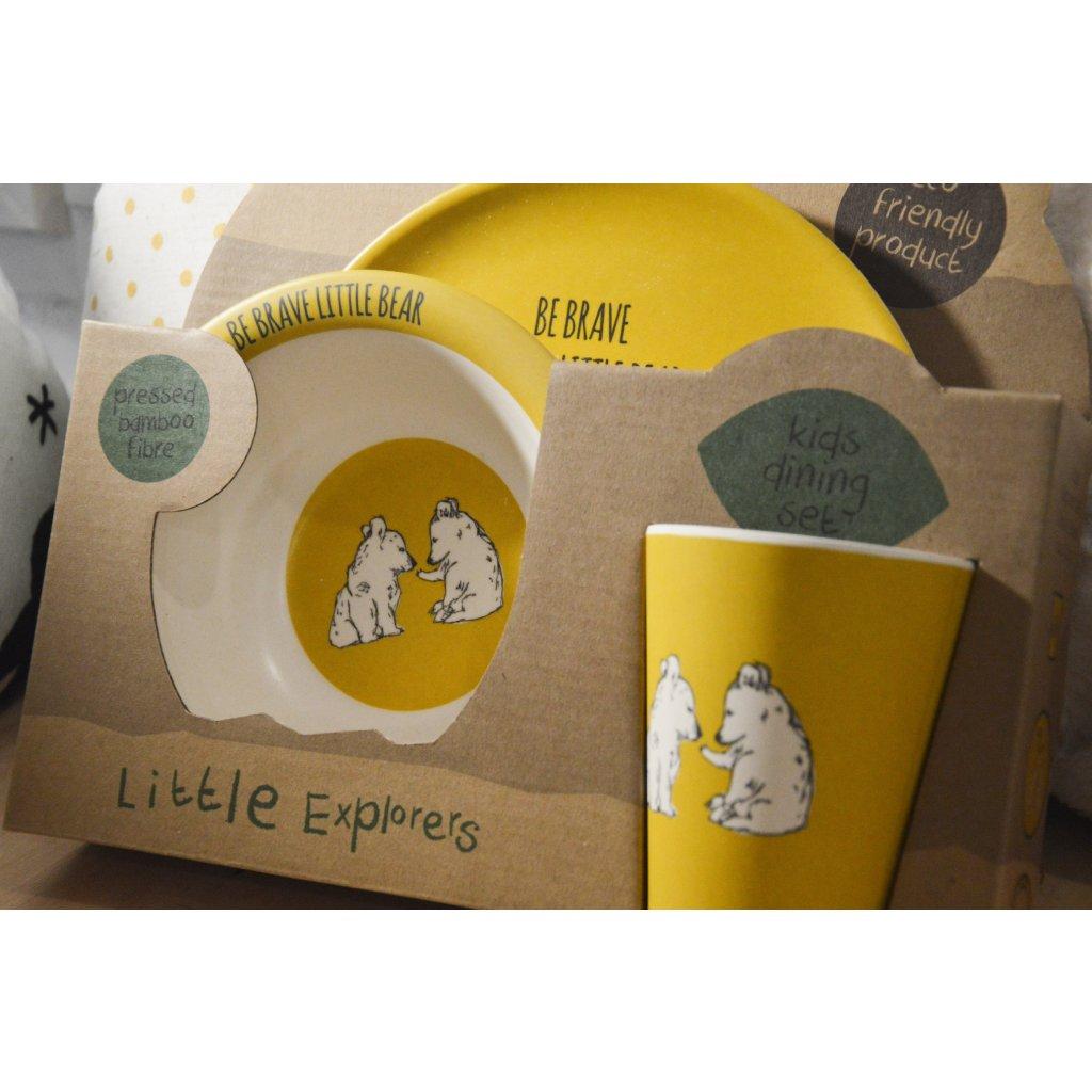 Sada nádobí Little Explorers - Malí dobrodruzi