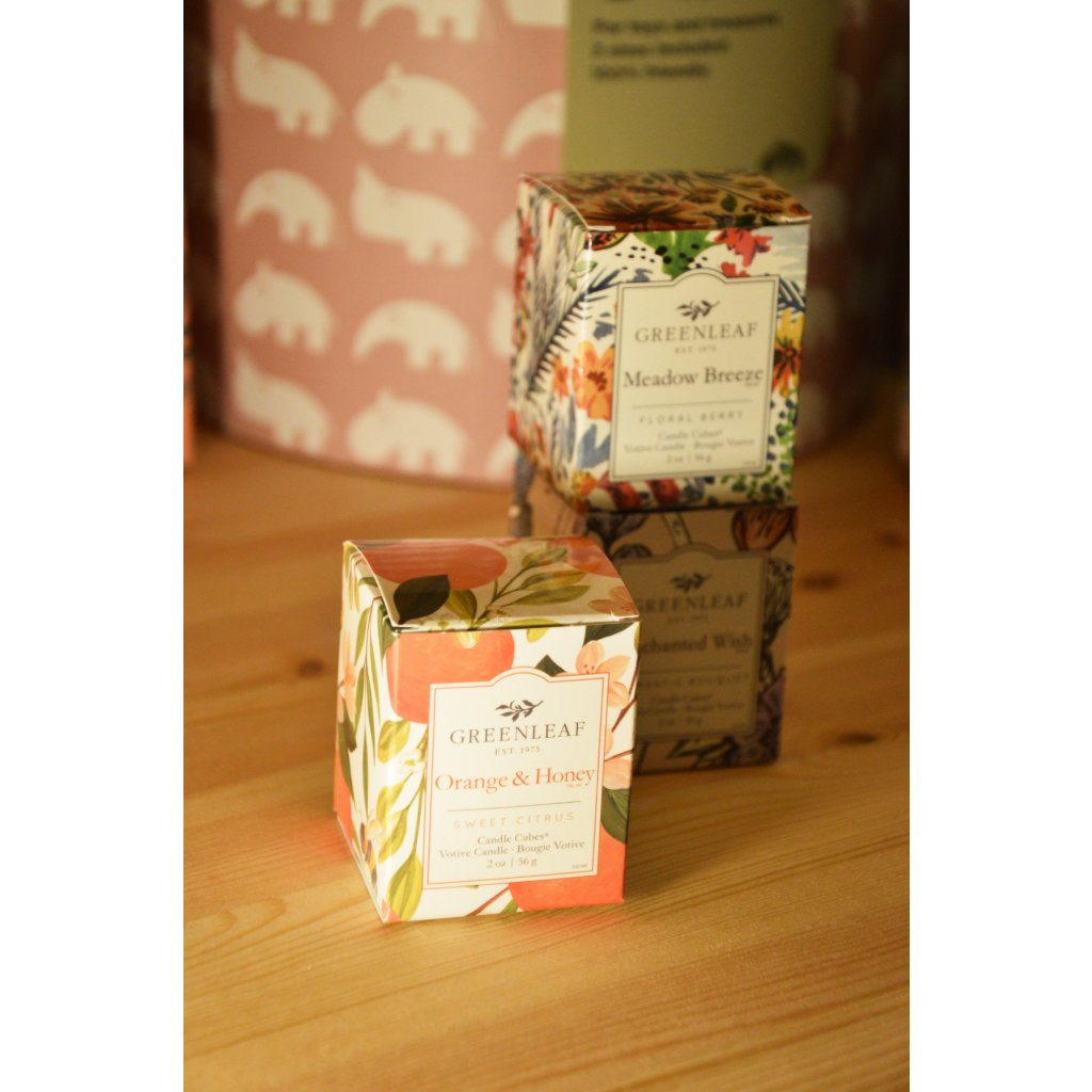 Svíčka v krabičce Orange and honey - pomeranč a med