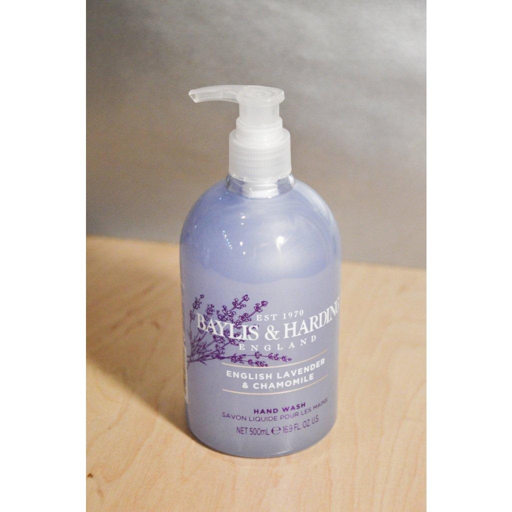 Tekuté mýdlo Levandule a heřmánek