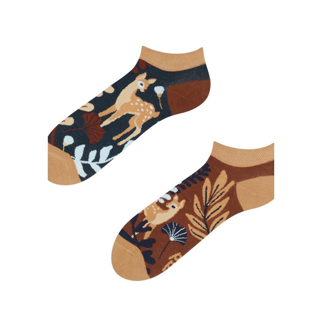 Kotníkové ponožky Srnka