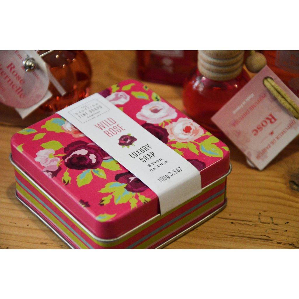 Luxusní mýdlo Divoká růže