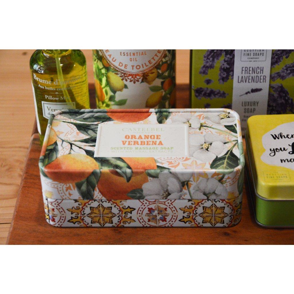 Luxusní mýdlo Pomeranč a verbena