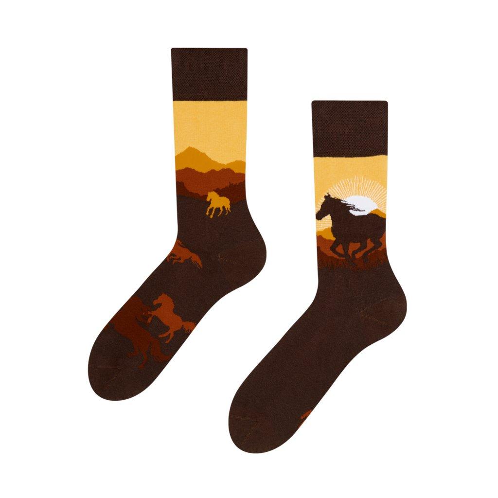Ponožky Divoké koně