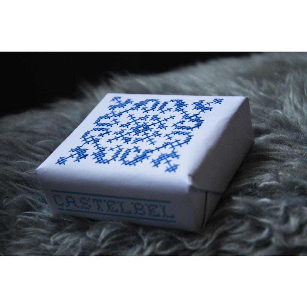 Luxusní mýdlo prošívané Zimní