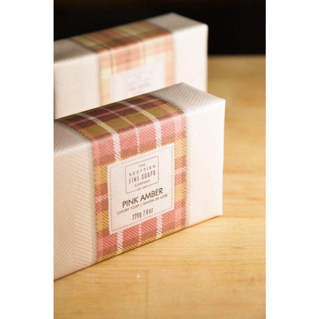 Luxusní mýdlo Růžová ambra