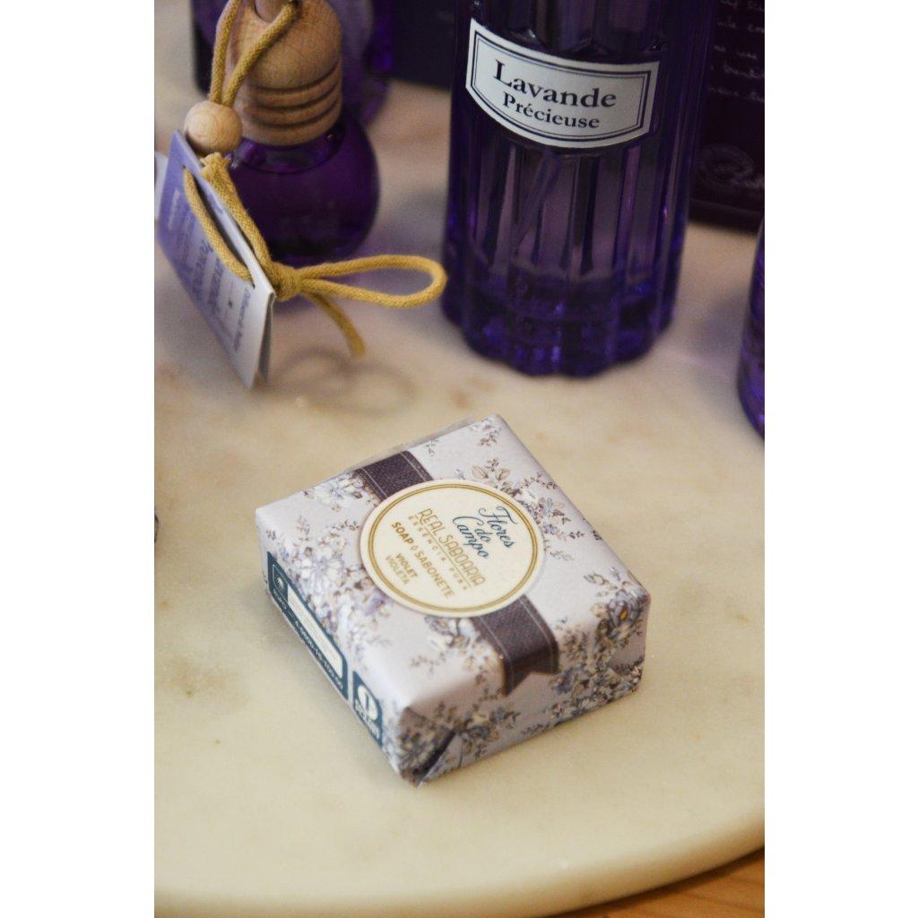 Luxusní mýdlo Fialka malé
