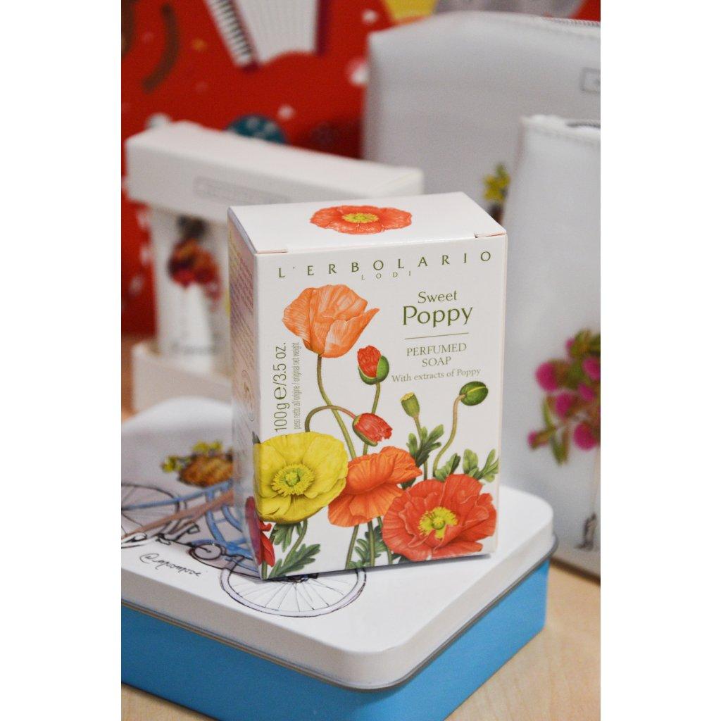 Luxusní mýdlo z Itálie Mák