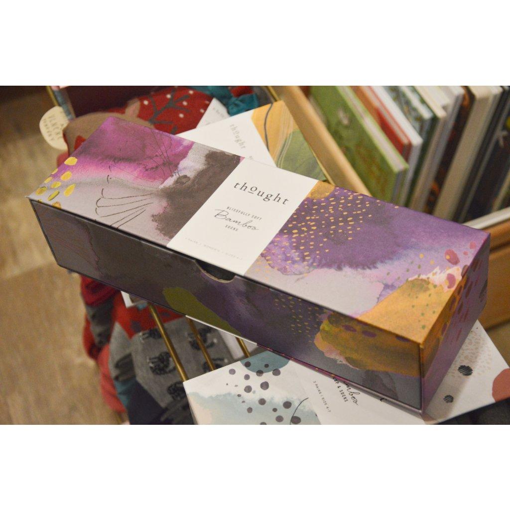 Ponožky Fauna různobarevné 7 párů v krabičce