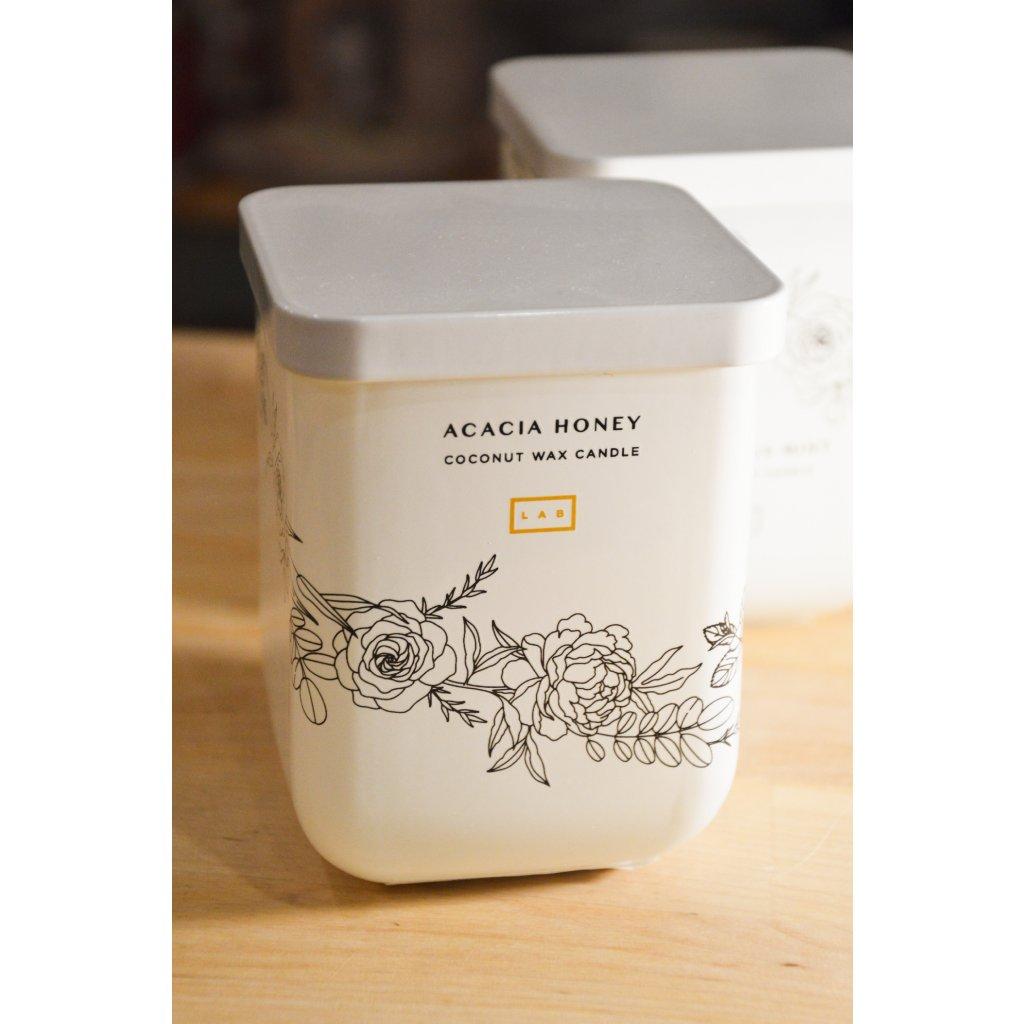 Svíčka ve skle kokosová Acacia Honey - Akácie a med