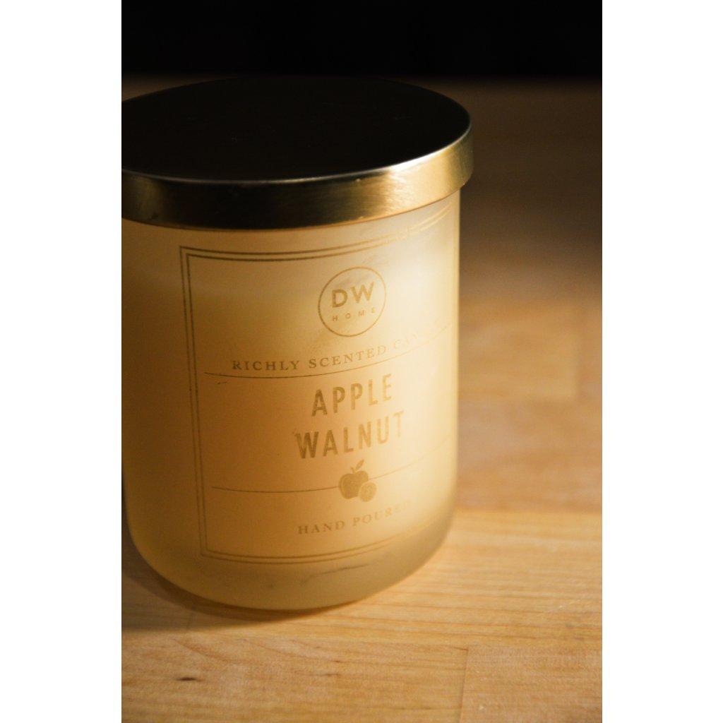 Svíčka ve skle Apple Walnut - Jablko a vlašský ořech