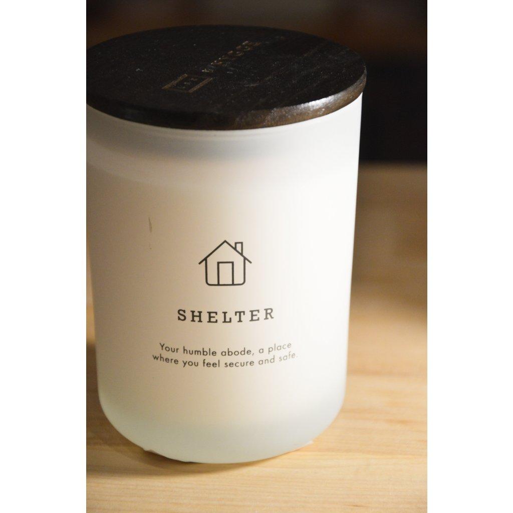 Svíčka ve skle Shelter - Přístřeší