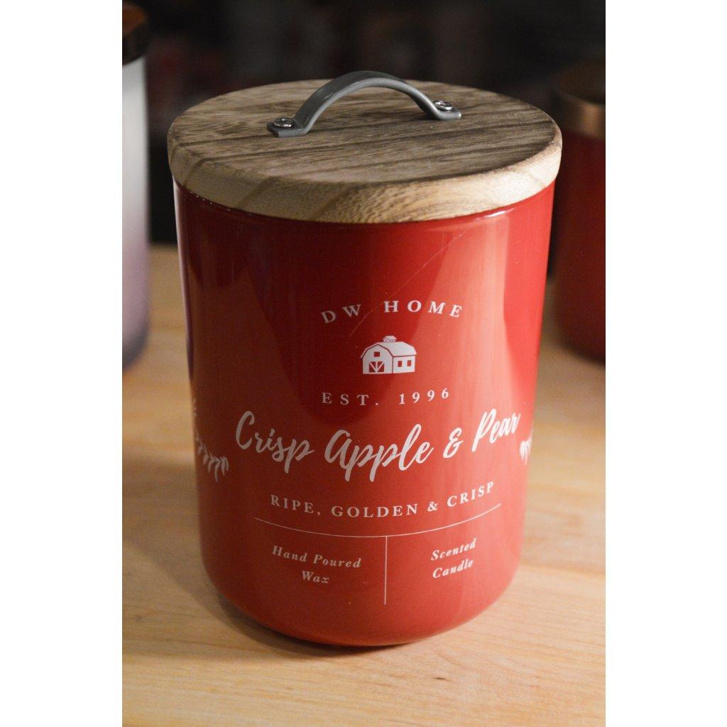 Svíčka ve skle Crisp Apple and Pear - Křehké jablko a hruška
