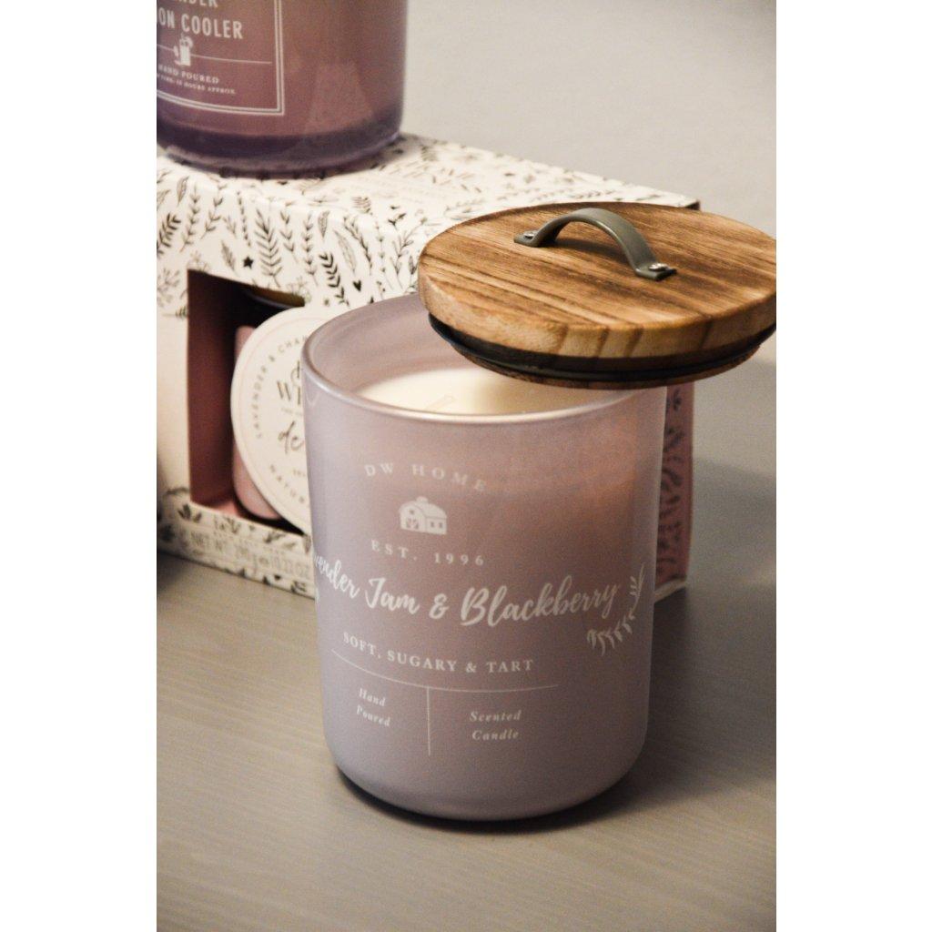 Svíčka ve skle Dried Lavender and Sage - Sušená levandule a šalvěj