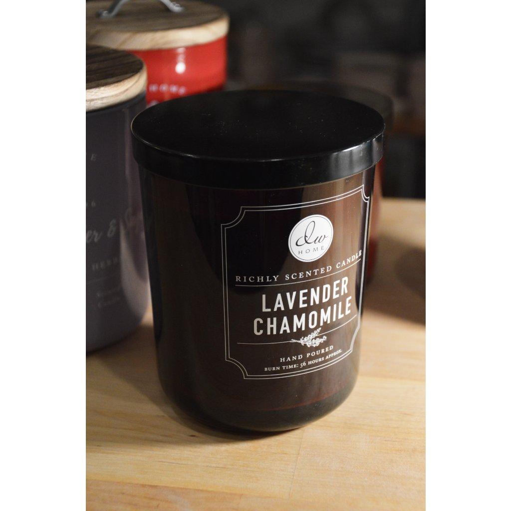 Svíčka ve skle Lavender Chamomile - Levandule a heřmánek