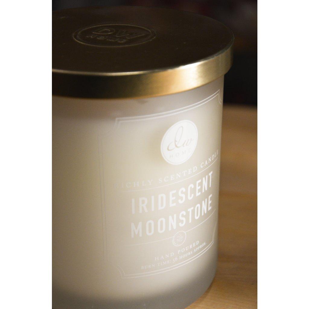 Svíčka ve skle Iridescent Moonstone - Třpitivý měsíční kámen