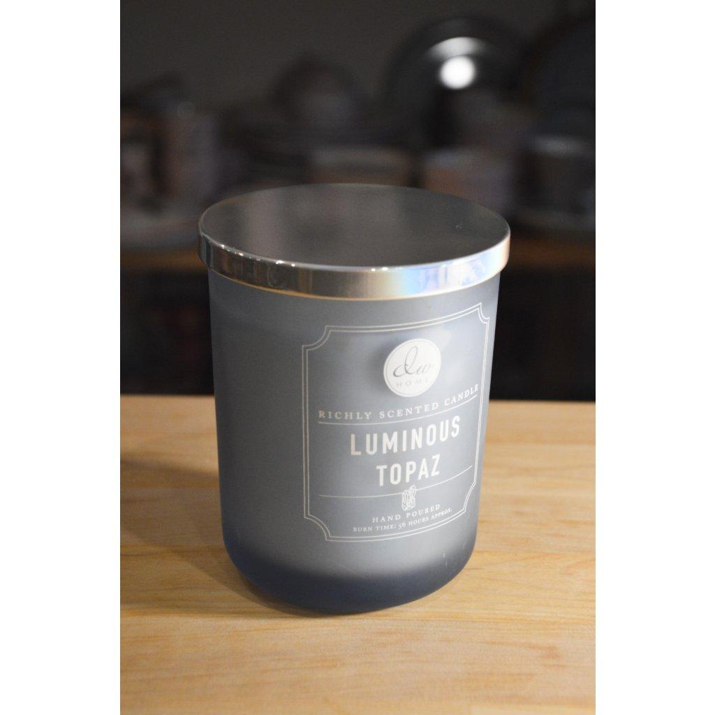 Svíčka ve skle Luminous Topaz - Světélkující topaz