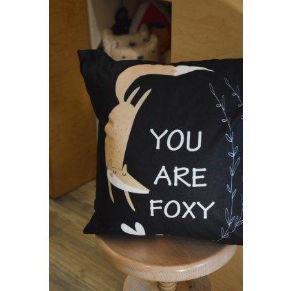 Polštář You are Foxy