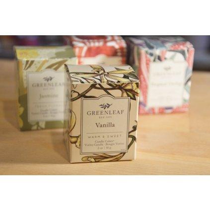 Svíčka v krabičce Vanilla - vanilka