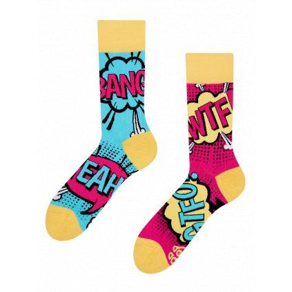 Ponožky Komiks