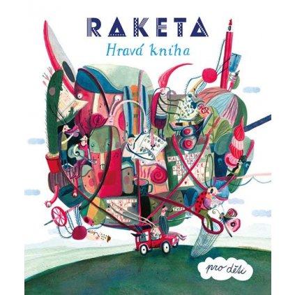 Raketa Hravá kniha pro děti