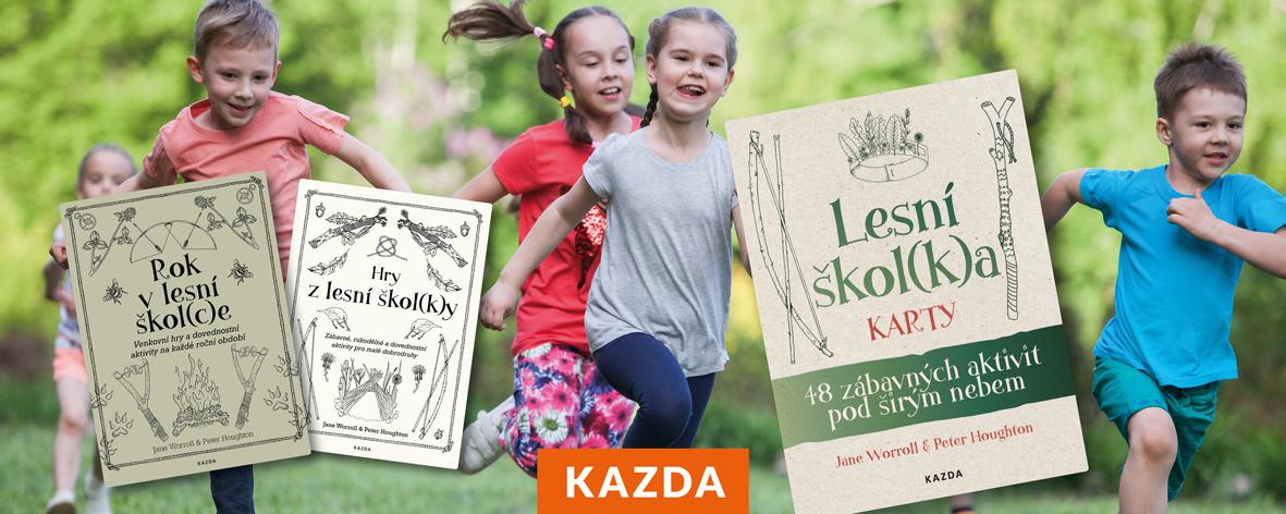 """Naučte děti milovat přírodu pomocí knih """"z lesní školky"""""""