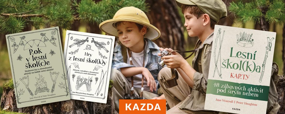 Lesní škol(k)a karty - 48 zábavných aktivit pod širým nebem
