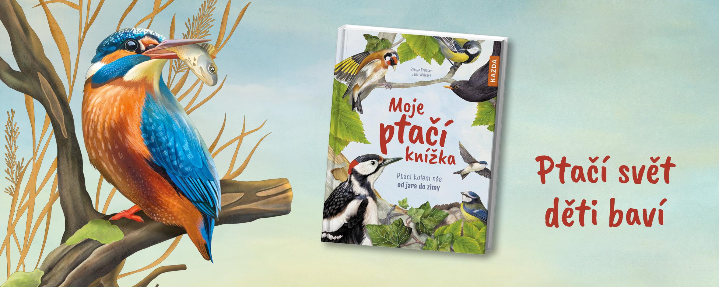 Moje ptačí knížka poučí nejen ty nejmenší