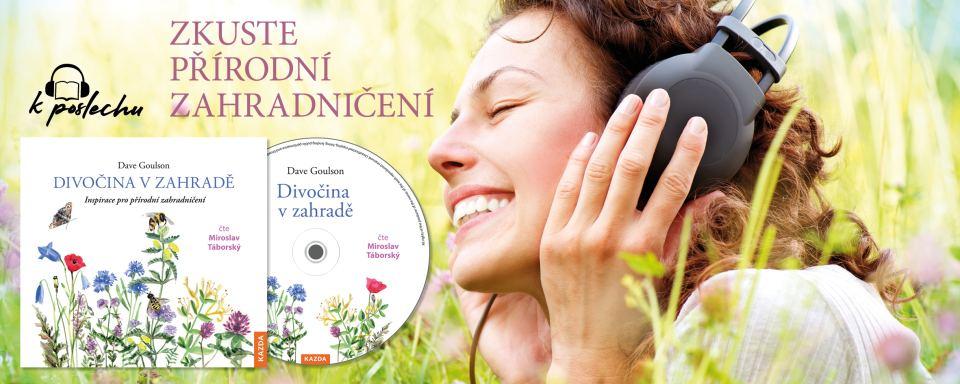 Audiokniha Divočina v zahradě