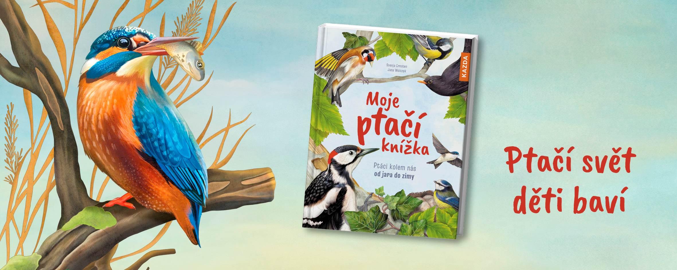 Knížka, se kterou bude děti bavit ptačí svět
